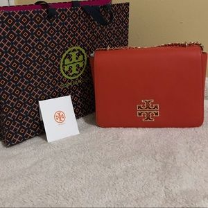 Tory Burch Britten Large Adjustable Shoulder Bag